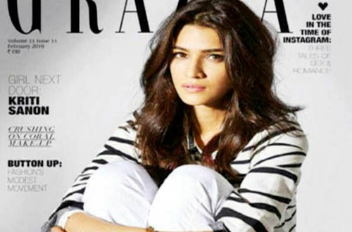 8eeafba6307f New Delhi, Bollywood actress Kriti Sanon aces the cover of Grazia's  February issue and she is effortlessly sporting ...