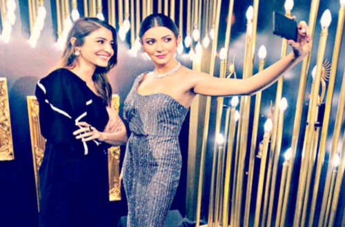 936339060035 Anushka Sharma unveils her wax figurine at Madame Tussauds Singapore.  Mumbai:MMNN:20 November 2018. New Delhi, Bollywood actor Anushka Sharma is  a global ...